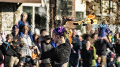 Fire (PAJ880) Tags: fire performer parade quincy ma wollaston christmas