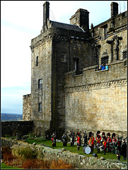 Drum & Pipe band (Stirling Castle) (juzzie_snaps) Tags: castle