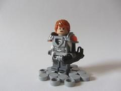 Random figs: Cmdr. Donavan (Marley Mac) Tags: minifig fig minifigure mini figure marleymac scifi space lego