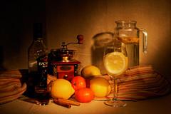 (mzinin) Tags: stilllife lemon rum апельсин лимон натюрморт mzinin