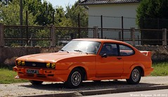 Ford Capri 1978 (XBXG) Tags: auto old france classic ford car vintage germany deutschland capri automobile 10 champagne voiture german sur 1978 frankrijk coupe coup deutsch ancienne aube duits vanne fordcapri allemande villemaursurvanne villemaur 4924lp10