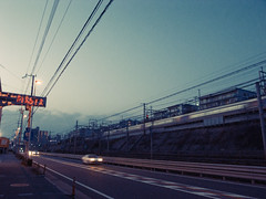 """Rute2"" tarumi-kobe Japan. (lexotan2001) Tags: color art japan polaroid lofi snap kobe points gr vanishing grd t600 grd2"