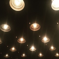 Edison bulbs in Houston. Good to be with friends. #theworldwalk #travel #twwphotos