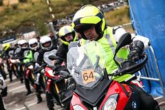 Los 'riders' probando la S 1000 XR