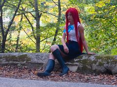 Shooting Erza Scarlet - Montrieux - 2015-08-13- P1180562 (styeb) Tags: scarlet cosplay tail fairy shooting été 13 xml aout retouche 2015 montrieux erza