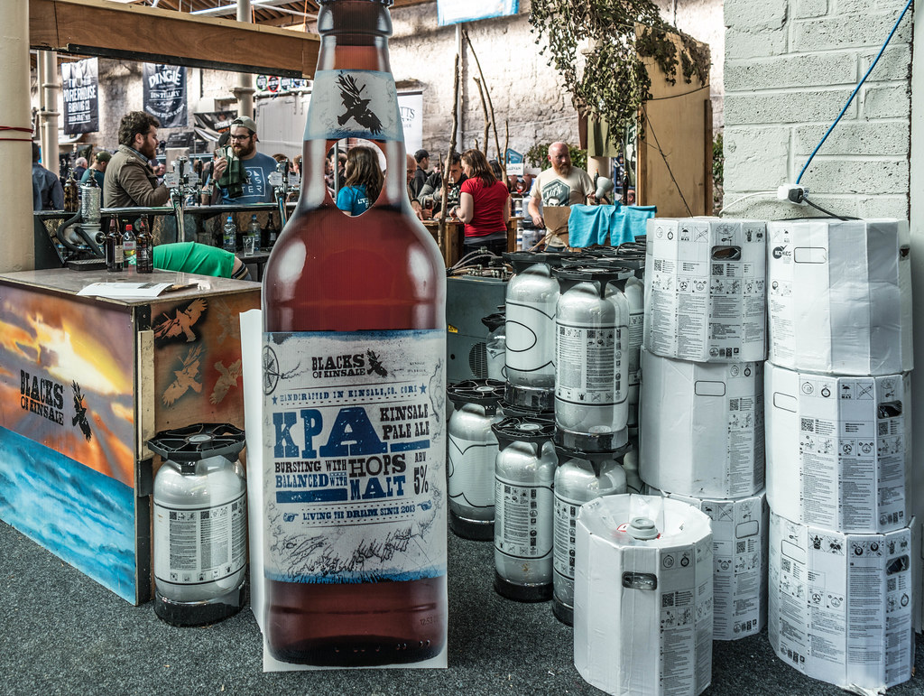 IRISH CRAFT BEER FESTIVAL IN THE RDS LAST WEEKEND IN AUGUST 2015 [KINSALE PALE ALE] REF-107270