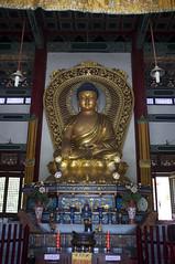 Chinese Monastery, Lumbini, Nepal (Aleksandr Zykov) Tags: nepal statue buddha chinese buddhism monastery lumbini