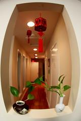 Hallway (Benny2006) Tags: house plant lights sigma10mmfisheye chinesenod