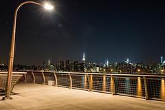 Greenpoint Pier, Brooklyn, NY (emrudaphotography) Tags: nyc longexposure nightphotography brooklyn manhattanskyline empirestate greenpoint lightroom niksoftware bwcpl nikon28300mm hoyand16 nikond610
