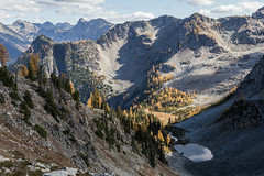20151003-IMG_9948 (Ken Poore) Tags: washington hiking cascades larches northcascades geolocation maplepassloop geocity camera:make=canon exif:make=canon goldenlarches geocountry geostate exif:lens=ef24105mmf4lisusm exif:focallength=40mm exif:aperture=ƒ90 exif:model=canoneos6d camera:model=canoneos6d exif:isospeed=320 geo:lon=12075876833333 geo:lat=48499591666667