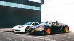 1 of 8 Bugatti (Anthony van Pelt) Tags: world orange white black cars netherlands coffee car sport rotterdam nikon grand ferrari record 164 edition bugatti supercar speciale veyron roadster vitesse baan 458 velgen 1685 hypercar carsandcoffee d5100 baanvelgen dutchbugs