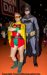 MCM CC OCT 2015 (288) (cameraview4u121) Tags: people game robin canon pose comics dc costume makeup event entertainment fantasy superhero batman scifi characters entertainer cosplayer popculture comiccon fancydress excel mcm mcmexpo mcmlondon mcmcomiccon londoncomicconoct2015