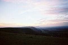south downs, september 2014 (kodacolorframes) Tags: uk england film 35mm countryside brighton dusk minoltax700 gb analogue southdowns kodakektar100