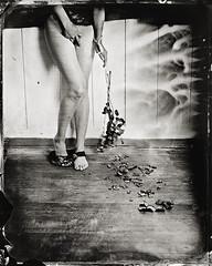 ... (christophemaradan) Tags: blackandwhite bw nude women noiretblanc ambrotype wetplate 4x5 inches argentique schneider sinar analogic humide 150mm collodion atlernative christophemaradan christophemaradanch