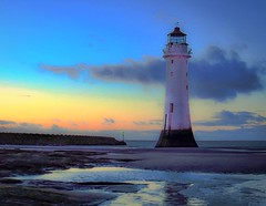 Perch Rock Lighthouse (2 of 4) (andyyoung37) Tags: uk trees sunset unitedkingdom gb wallasey newbrighton merseyside perchrocklighthouse