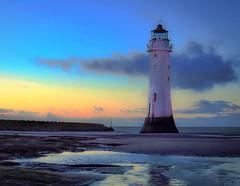 Perch Rock Lighthouse (2 of 4) (andyyoung37) Tags: uk trees sunset unitedkingdom gb wallasey newbrighton merseyside perchrocklighthouse