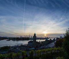Stintfang (JokerHH81Photography) Tags: sunset hamburg hafen elbe hamburgerhafen bv stintfang dock17 sonnenunterngang