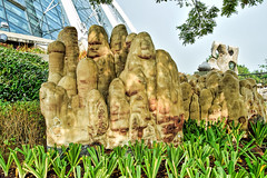 Sculpture (chooyutshing) Tags: sculpture singapore display marinabay baysouth gardensbythebay