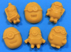 Minion Soaps (3 pcs. per bag) $2.00 (Clelian Heights) Tags: soaps minions unscented decorativesoaps despicableme cleliansoaps cleliancenter