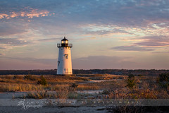 Edgartown Light (betty wiley) Tags: light sunset lighthouse coast massachusetts shoreline newengland coastal cape marthasvineyard cod edgartown bettywileyphotography