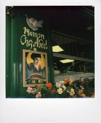 Montmartre (@necDOT) Tags: paris polaroid sx70 montmartre ameliepoulain instantcamera foldingcamera instantfilm impossibleproject
