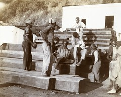 A group of black South Africans, c.1901.