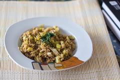 Quinoa con puerros (Sarmale / OAyuso) Tags: comida cereales salado quinoaconpuerrosyaceitedetrufa
