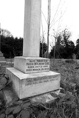 Also Hugh Milman O.B.E. and Marjorie his wife (IanAWood) Tags: pinner londoncemeteries londonboroughofharrow walkingwithmynikon nikkorafs24mmf14g pinnercemetery nikondf