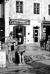(mgkm photography) Tags: urban blackandwhite bw blancoynegro portugal monochrome 50mm calle lisboa lisbon candid streetphotography gimp streetphoto rua pretoebranco blackandwhitephotography streetshot 50mm18 urbanphotography shotwell fotografiaurbana blackwhitephotos candidstreet nikonphotography opensourcephotography ilustrarportugal d7000 europeanphotography streettogs lisbonarua