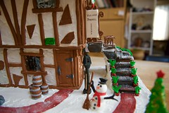 The old Cooper workshop! (ineedathis, the older I get, the more fun I have!) Tags: door snow window kitchen sign stairs handle miniatures baking snowman modeling path barrels bricks entrance nails lamppost frame icing ironwork gingerbreadhouse edible flowerpots 1485 gelatin gumpaste woodendoor sugarwork hinches christmas2015 nikond750 antiqueshardware theoldebarrelshop