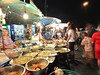 Parasols of food stall (kawabek) Tags: thailand stall chiangmai 傘 タイ パラソル เชียงใหม่ ประเทศไทย チェンマイ 露店 ร่ม parsol แผง