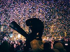 Let the party begin (FButzi) Tags: cristina olympus confetti concerto staff genoa genova piazza firing omd em10 40150mm davena matteotti f4056r
