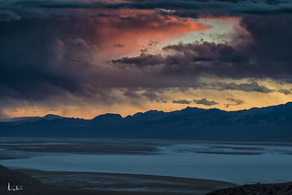 Magical Sunset at Badwater, Death Valley National Park