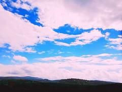 #سماء فلسطين  #غروب الشمس  #أزرق #تصويري (diamond01200) Tags: غروب أزرق تصويري سماء