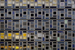 German pattern (Maerten Prins) Tags: windows urban abstract reflection building window lines architecture facade germany pattern outdoor swastika cologne köln duitsland keulen explored dontmentionthewar ithinkigotawaywithit