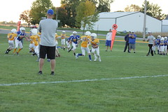 1288 (bubbaonthenet) Tags: 09292016 game stma community 4th grade youth football team 2 5 education tackle 4 blue vs 3 gold