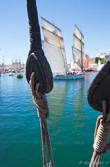 Poulie (Anglique V) Tags: brest bretagne finistre bateau 2016 tamron1750mmf28 pentax k5ii mer ftemaritime bokeh poulies