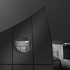 Details (Minas Stratigos) Tags: fine art black white sonya7rii details architecture doha qatar