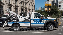 NYPD Police Tow Truck, Downtown Brooklyn, New York City (jag9889) Tags: brooklyn jag9889 usa towtruck 20160925 truck newyorkcity towing newyork outdoor 2016 downtownbrooklyn car nypd auto automobile finest firstresponder kingscounty lawenforcement ny nyc newyorkcitypolicedepartment policedepartment transportation unitedstates unitedstatesofamerica vehicle us