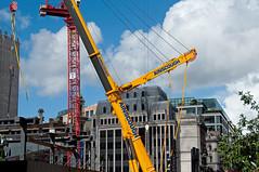 _DSC9227 (NRM the 2nd) Tags: htcwolffkran wolffkran 355b 500b ainscough liebherrltm1750 goldmansachs london cityoflondon construction 2016