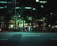 ... (june1777) Tags: snap street seoul night lightt plaubel makina 67 nikkor 80mm f28 kodak portra 800