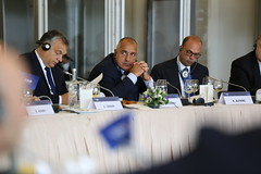 EPP Summit, Maastricht, October 2016 (More pictures and videos: connect@epp.eu) Tags: boyko borissov prime minister gerb bulgaria angelino alfano nuovo centrodestra italy viktor orbn fidesz hungary epp summit maastricht 2016 european peoples party
