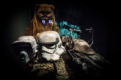 eworking (R.R.Fernandez) Tags: star wars ewoks ilm industrial light magic return jedi rotj stormtrooper george lucas endor