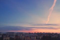 Sthlm light (sofjet) Tags: city sky sunset light evening skandinavien scandinavia schweden sverige sweden stockholm