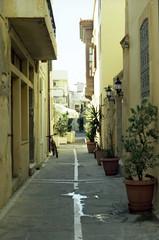 (daria.lipova) Tags: crete rethymno 2016 film street old october konica plants
