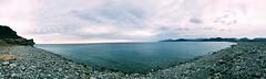 Es Codolar (chrysalismo) Tags: mediterrneo mar sea water stones codols iphone iphone6 spain espaa eivissa ibiza playa beach panormica panoramic