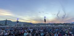 Dusk @ Desert Trip (acase1968) Tags: indio california deserttrip coachella nikon d750 nikkor 20mm f18g sunset crowd ferris wheel sky skywatch