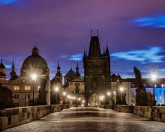 Early AM on Charles bridge (brenac photography) Tags: prague czechrepublic hdr oloneo brenac brenacphotography pont bridge nikond810 sigma