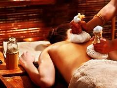 image (iueno4) Tags: spa ayurveda india ayurvedic treatment massage woman pouch hindu therapist travel tourist east wood wooden grouppeople people female girl caucasian asia massaging therapyindianhealtcarearomatherapymedicineherbalalternativenaturalhealthhealthyremedywellnessnatureherbbodyasianmedicalhealingbeautypanchakarmaoilpouringcompressballbody part