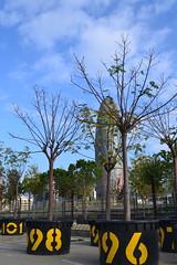 Torre Agbar, Barcelona, Catalonia, Spain (marc.desbordes) Tags: barcelona barcelone torreagbar